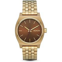 Nixon Reloj Analogico para Mujer de Cuarzo con Correa en Acero Inoxidable A1130-2803-00