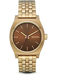 Nixon Reloj Analogico para Mujer de Cuarzo con Correa en Acero Inoxidable A1130-2803-