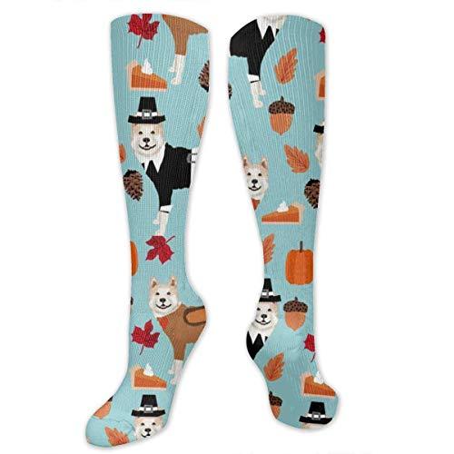 giving Unisex Casual Pattern Crew Socks Long Socks Boy's Girl's 50cm ()