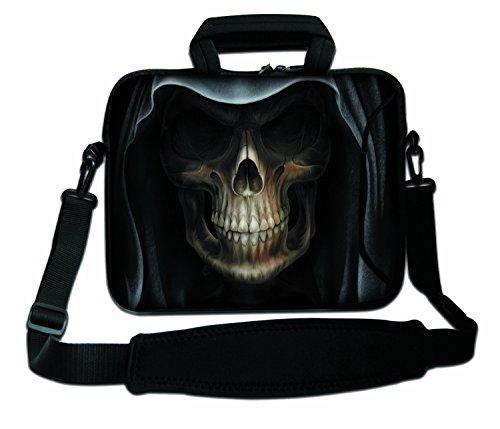 Luxburg Schultertasche Notebooktasche Laptoptasche Tasche mit Tragegurt aus Neopren für Laptop/Notebook Computer 17,3 Zoll