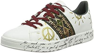 Desigual Shoes Cosmic Exotic, Zapatillas para Mujer, Blanco (White 1000),