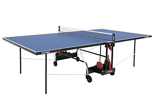 Blauer Outdoor-tischtennistisch (Stiga Tischtennistisch Winner Outdoor, blau, 222.7010/St)