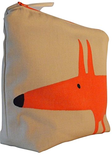 scion-mr-fox-neutro-paprika-borsa-da-toilette-impermeabile-foderato-wash-bag-cosmetici-borsa
