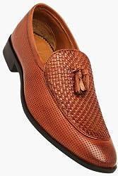 Blackberrys Mens Tan Leather Formal Shoes (201634573)- 7 UK