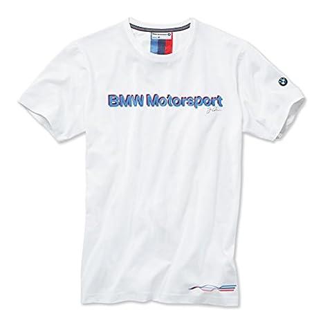 BMW motorsport fan t-shirt pour homme taille l (blanc/2015