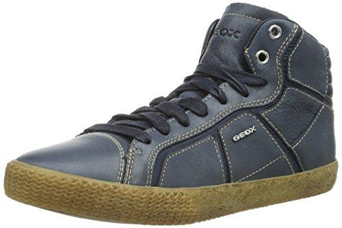 Geox J Menino Inteligente Jovens Sneakers Altos Azuis (navyc4002)