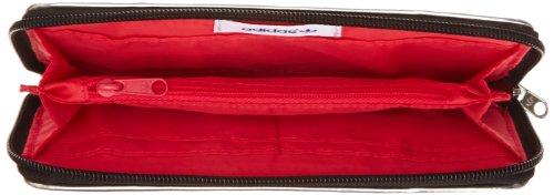 adidas Originals Big Glam Walle, Porte-monnaie Noir (Noir/Argmet)