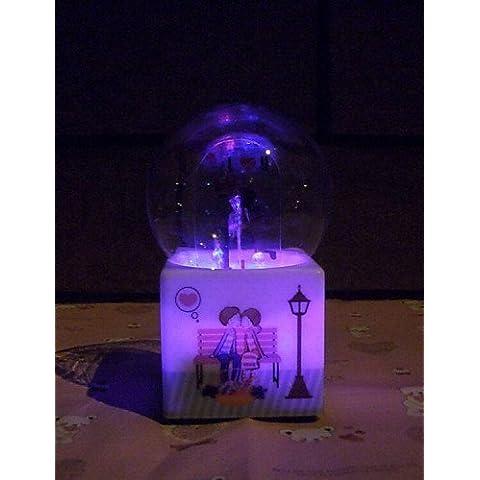 E&T/ regalo di compleanno giorno modello violino Music Box della