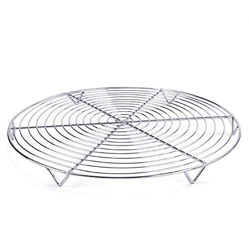 Portable Öl-filter (Grill Grill Home Cake Portable Chicken Wing Halter Filter Öl Werkzeug Edelstahl Runde(1pc))