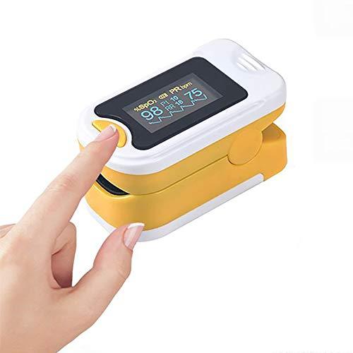 SUN RNPP Blutzuckermessgeräte Oximeter fingerspitzen-led-oxymetrie blutsauerstoffsättigungsüberwachung tragbare atemfrequenz-Funktion,Orange