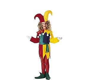 Rubies - Disfraz de arlequín para niña, talla L (8-10 años)