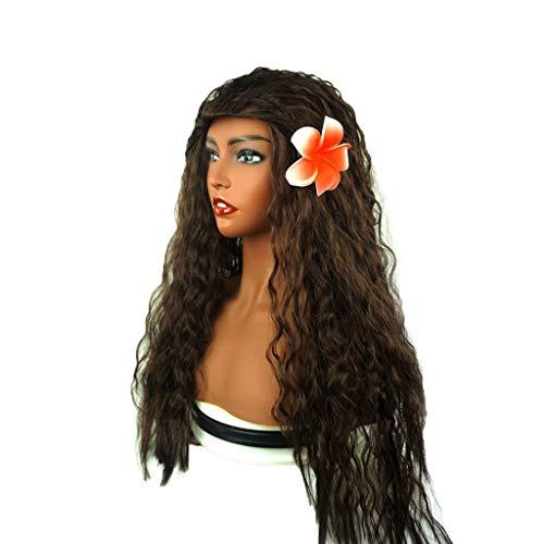 Amphia - Schöne Party Disco Cosplay Prinzessin Mädchen Afro Maskerade Lustige Haar ()