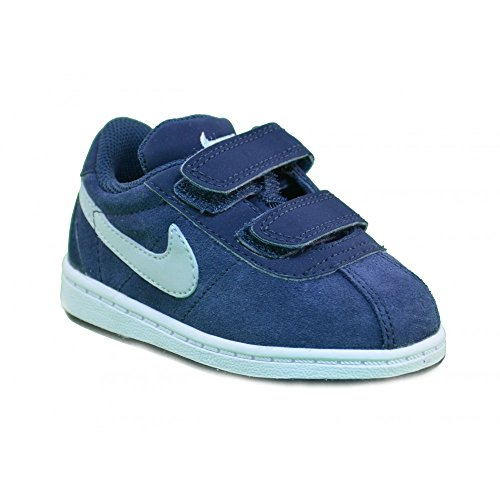 Nike - Nike Brutez Plus (TD) Scarpe Sportive Bambino Pelle Blu Strappi 535450 - Blu, 21