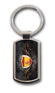 Schlüsselanhänger Spanien Spain Fahne