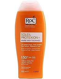 Soleil protexion+ spf50+ lait haute tolérance 200 ml