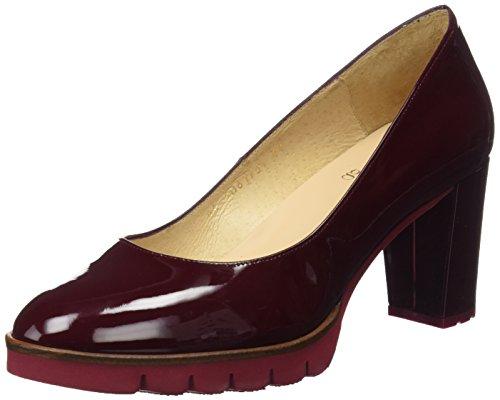 Gadea Charol, Zapatos Cerrados Con Tacón En Punta Mujer Rojo (vino Charol)