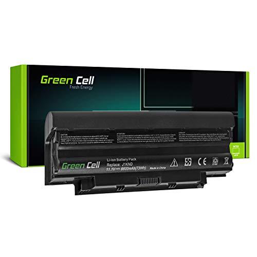 GC® Extended Serie Laptop Akku für Dell Inspiron 15R N5014 N5050 17R M7010 M7110 N7010 N7010D (6600mAh 11.1V Schwarz) (Laptop Akku Für Dell N7010)