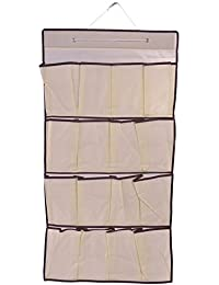 Trexee Multi Pocket Fancy Home Door Hanging Shoe Organizer Door Hangers Socks Undergarment Cabinet Wardrobe Door...
