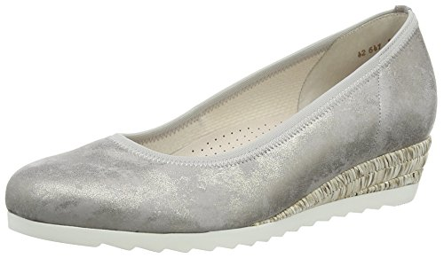 GaborEpworth - Scarpe con Tacco donna Marrone  (Taupe Metallic Leather (Tsand))