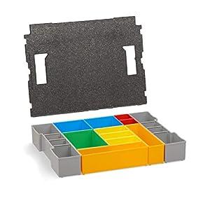 Bosch Sortimo Insetboxenset H3 für L-Boxx 102 + Deckelpolster