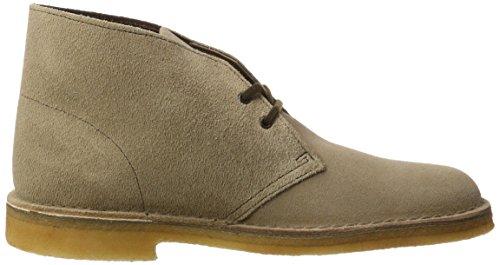 Clarks Originals 20357906 Scarpe stringate Desert Boot, Uomo Grigio (Wolf)