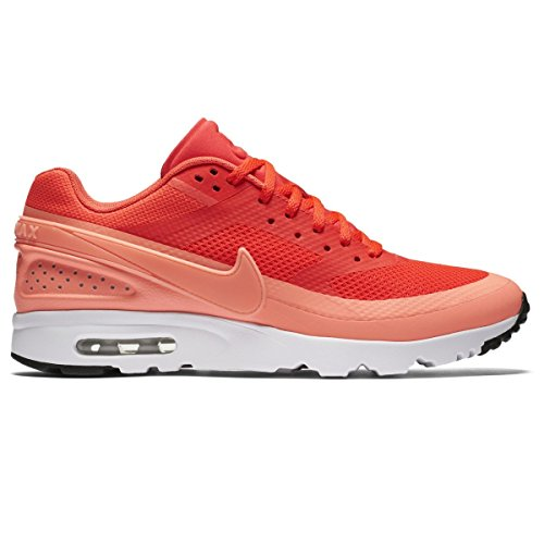 NIKE W Air Max BW Ultra, Chaussures de Sport Femme, Orange (Pourpre Vif/Rose Atomic-Blanc-Noir), 38 EU