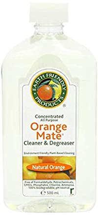 Three Packs Of Earth Friendly Products Orange Mate Conc Degreaser 500Ml