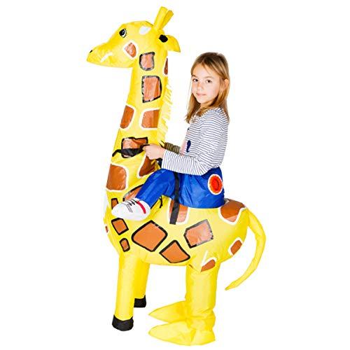 Bodysocks® Disfraz Hinchable de Jirafa Niño