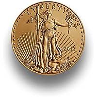 Goldmünze American Eagle 1/10 Unze - Jahrgang 2018 - Einzeln in Münzkapsel verpackt
