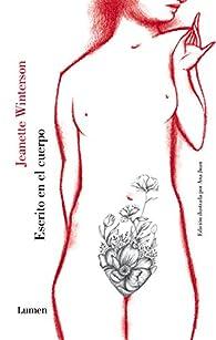 Escrito en el cuerpo par Jeanette Winterson