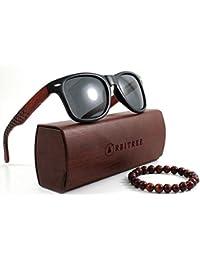 Orbitree - Lunettes de soleil en bois pour hommes et femmes. 100% bois  africain 5f308659833e