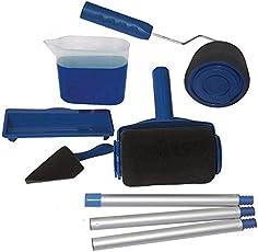 Leoie 5PCS/6PCS Paint Roller Brush Set Wall Painting Tool for Home Decor