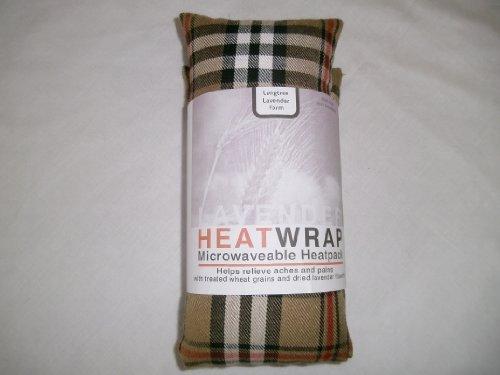 Mikrowelle Fleece Weizen Tasche mit Lavendel-Beige Tartan - Microwavable Heat Pack