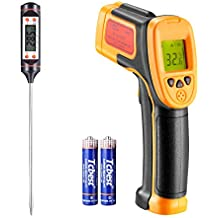 Termómetro infrarrojo, para cocinar/aire/refrigerador, -26 ° F ~ 1022