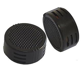 2 x 500 Watt Super Power Loud Dome Tweeter Lautsprecher für Auto / Motorrad