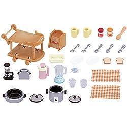 Sylvanian Families - Set utensilios para cocina (Epoch para Imaginar 5090)