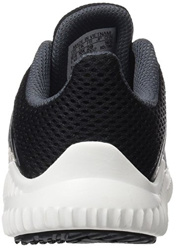 adidas Fortarun K, Sneakers Basses Mixte enfant, Rouge, 3 EU Multicolore - noir/argent/onyx (Negbas / Plamet / Onix)
