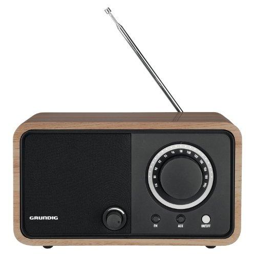 Grundig GRR2740 Radio da tavolo in legno TR1200, Marrone