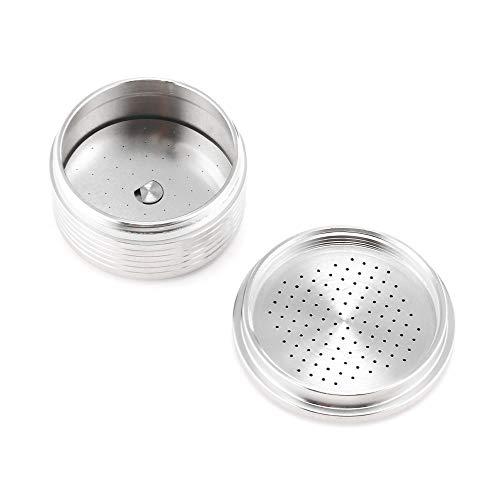 Filtros de café - Cápsulas de filtro reutilizables compatibles con máquina de café espresso - 8 - 12 ovaladas negras Oster extra anteojos de viaje japonés Decker Metal Drip Incl Kcup Glass Techn