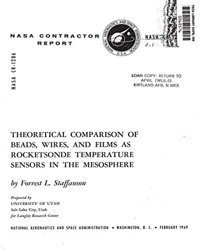 Theoretical comparison of beads, wires, and films as rocketsonde temperature sensors in the mesosphere (English Edition)