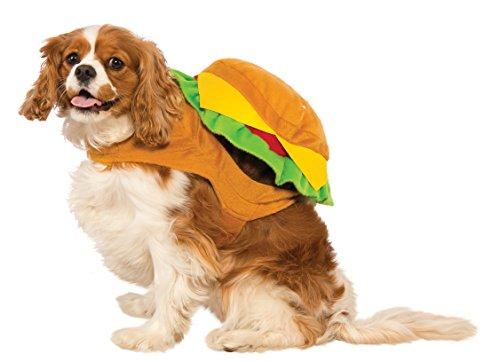 Rubies Cheeseburger Pet Food Costume S (Erwachsene Cheeseburger Kostüme)