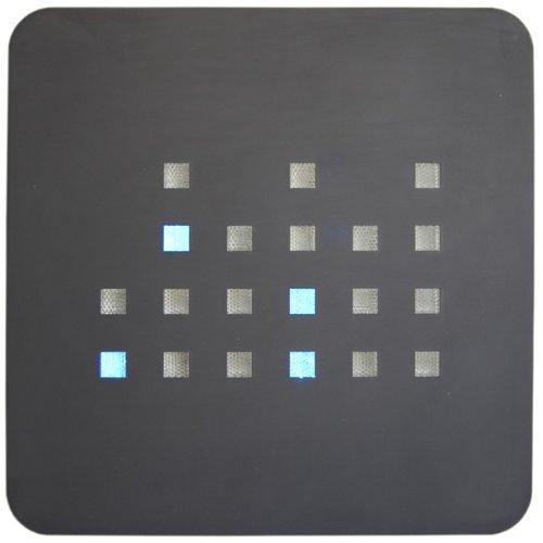 getDigital Binäre Wanduhr, blau