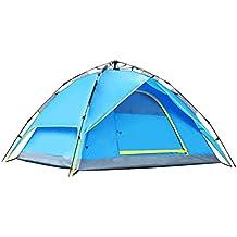 3 Tiendas De Montaña Para Camping Persona 2-3 Tiendas De Campaña Tienda De Campaña Plegable,Blue-L