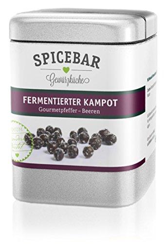 Spicebar Fermentierter Kampot Pfeffer, Gourmetpfeffer - Beeren (1 x 60g)