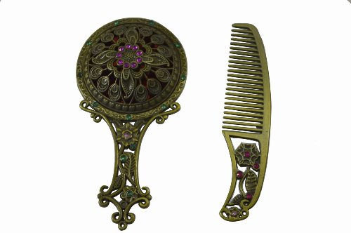 gosearr1-set-vintage-antique-hollow-out-flower-portable-make-up-makeup-hand-mirror-wedding-favors-me