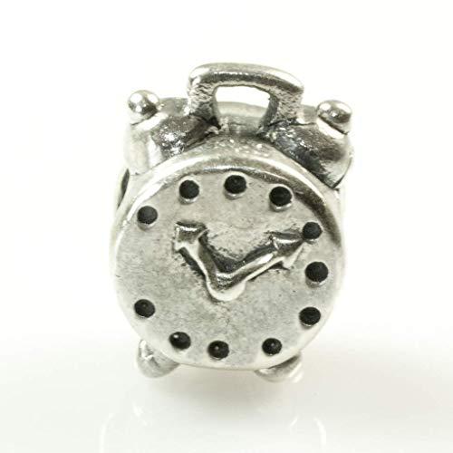 Charm abalorio compatible Pandora reloj despertador