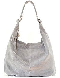 CUIR DESTOCK sac à main cuir nubuck femme porté main et épaule Modèle bloom - nouvelle collection 2018