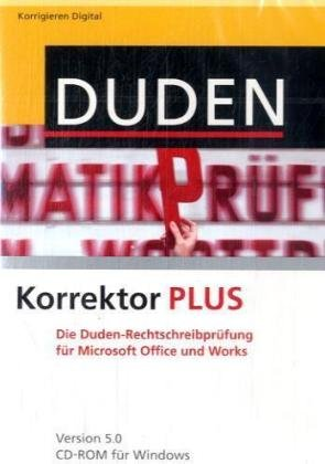 DUDEN Korrektor 5.0 Plus
