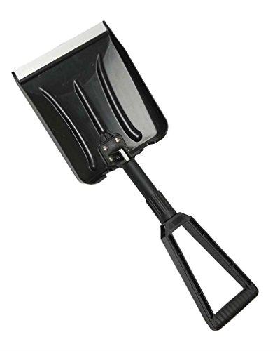 Schneeschaufel klappbar ABS schwarz