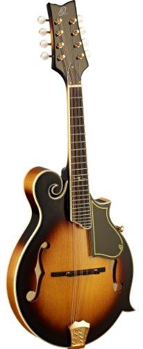 Ortega RMF90TS F-Style Serie Mandoline akustisch massive Decke tobacco sunburst im hochglanz Finish...
